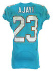 2016 (November 20) Jay Ajayi Miami Dolphins Game Worn Road Jersey NFL Authentic