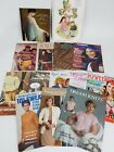 Lot of 14 Knitting Books Magazines Patterns How To Vintage  Contemporary