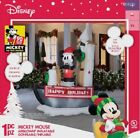 699 ft x 558 ft Lighted Mickey Mouse Christmas Inflatable 90th anniversary