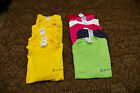 Lot of 12 GSI Commerce Tshirts Size M Short Sleeve Cotton Yellow Pink Blue Red