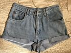 Vintage High Waisted Denim Shorts BUNNY Jeans 28