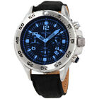 Nautica NST Blue Dial Leather Strap Men's Watch NAD19536G