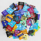 100 Condoms Bulk Variety Mix- Trojan,Kimono,Beyond 7,One,LifeStyles,Crown,