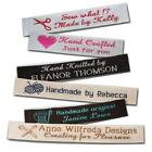 500 Personalized 100 Woven Sewing Labels 1 2 Wide