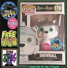 LACC Funko Pop Snowball Flocked Rick & Morty Exclusive Fall Convention Sticker