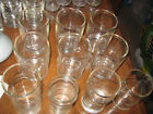Lot of Ten Tumbler Glasses 9 Ounces Vintage 1950's All in Very Good Condition