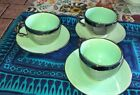 Vintage Hazel Hannell Rare Cups And Saucers Signed