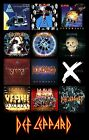 DEF LEPPARD album cover discography magnet (3