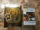 Coming to America Randy Watson + Target Gold Akeem Joffer Funko POP w SMALL Tee