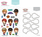 OH BOYS Stamps Dies Set The Greeting Farm Clear Stamp Stamping Craft Mini Ian