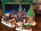 1996 Lemax Christmas Memories Accessory Kit 3 Pieces