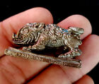 Amulet Wild Boar Pig Figurine Mini Charm Vintage Lucky Collect Statue