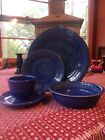 Sapphire Fiesta 5 piece place setting  Unused. Only 6 months production Retired