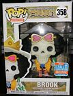 Funko Pop! One Piece #358 Brook 2018 Fall Conv. Exclusive - Hot Topic Exclusive
