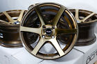 15x8 4 Lugs Wheels Integra Escort Accord Civic Prelude Miata Cooper Bronze Rims
