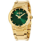 Nixon Cannon Green Dial Stainless Steel Men's Watch A160191900