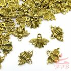 Bumble Bee Charms 21mm Antiqued Gold Plated Bee Pendants Gc0028811 - 81530pcs