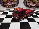 Hot Wheels 60s Ford Econoline Pickup Custom Paint Flames Real Riders