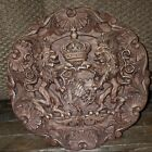 Wooden Emblem Carving (Very Good Condition Great Looking)