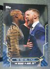 2017 TOPPS ON DEMAND UFC ROAD TO MAYWEATHER MCGREGOR no.18B SILVER FOIL 23 25