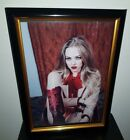 AMANDA SEYFRIED- HAND SIGNED WITH COA - FRAMED AUTOGRAPHED 8X10 PHOTO MEAN GIRLS