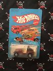1982 Hot Wheels Jeep CJ 7 No 3259 Brown unpunched card