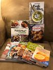 Weight Watchers 8 Book Lot Sizzle PointsPlus Comfort Delicious Easy More