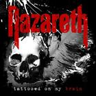 Tattooed On My Brain by Nazareth Audio CD Rock Discs: 1 2018 NEW FREE SHIPPING