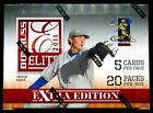 (2) 2011 DONRUSS ELITE EXTRA EDITION BASEBALL SEALED HOBBY BOX LOT auto status