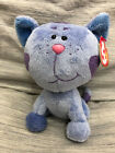 TY Beanie Baby PERIWINKLE the Cat (Nick Jr. - Blue's Clues)  Stuffed Toy w/tags