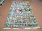 4' X 7' Antique 1920s Hand Made Persian  Sarouk Mahal Wool Rug Carpet Nice