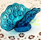 Stars Sea Blue Banana Boat Bowl Footed Center Piece