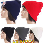 New Men Women Fashion Knit Baggy Beanie Oversize Winter Hat Ski Slouchy Chic Cap