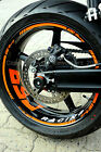 Wheel Sticker Supermoto KTM Duke 690 III 3 r 950 990 SM Rim Stripes Tape Decal