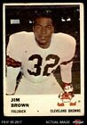 Top Jim Brown Football Cards of All-Time 30