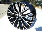 2018 2019 Volvo V90 22 Black WHEEL OEM RIM 9Jx22 10 Split spoke Polished lines