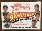 2014 Topps Heritage High Number Sealed Factory Set