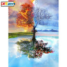 DIY 5D Diamond Painting Seasons Tree Home Decor Embroidery Cross Stitch