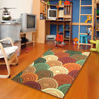 5x8 Contemporary Rainbow Bright Color Rubber Area Rugs Non Skid Area Rug 780