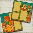Fall Memories Girl 2 Premade Scrapbook Pages EZ Layout 3532