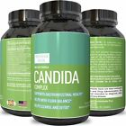 Candida Cleanse Detox Probiotics Supplement Fight Yeast Overgrowth Boost Energy