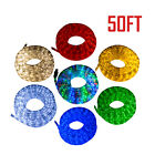 50 LED Rope Light 2 Wire 110V Outdoor Xmas Decorative Party Lighting Waterproof