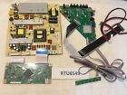 RCA RTU6549 Main Board with Power supply +Tcon+Button Board+Ribbon