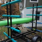 Kayak Canoe Trailer Holds 8 Conversion Trailer Endless Possibilities