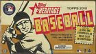 2010 Topps Heritage Baseball Factory Sealed Hobby Box