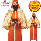 CA843 Gaspar 3 Three Wise Man Kings Adult Christmas Nativity Biblical Costume