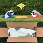 Outdoor Nativity Scene Large Holy Family Christmas Holiday Yard Decorations