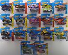 2013 2018 Hot Wheels Treasure Hunt LOT of 17 SHORT CARDS Super Rare Set NEW