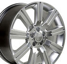 20 Rim Fits Land Rover Range Rover Stormer LR01 Hyp Silver 72200 20x95 Wheel