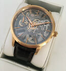 Maurice Lacroix 43mm Solid 18k Rose Gold Masterpiece Squelette Mechanical Watch